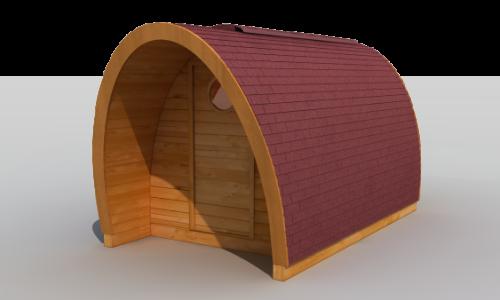 Cabaña de Madera Modular Kexek Clásica