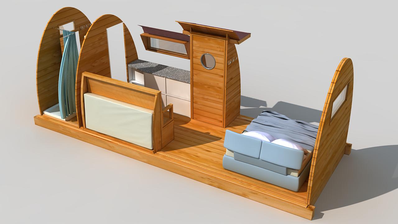 Kexek caba as de madera modulares y personalizables al for Cabana madera precio