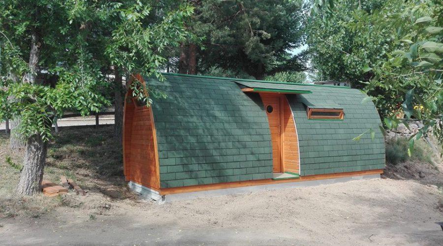 Nueva ubicación de nuestro Kexek en Camping Gredos Hoyocasero
